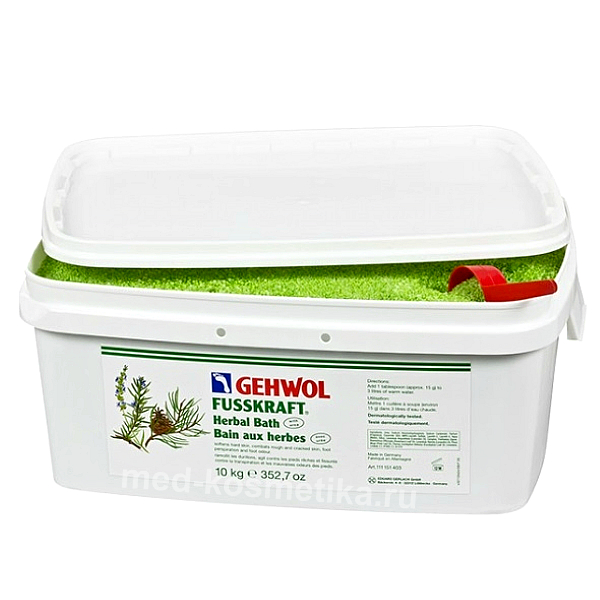 Травяная ванна FUSSKRAFT KRAUTERBAD GEHWOL 10 кг