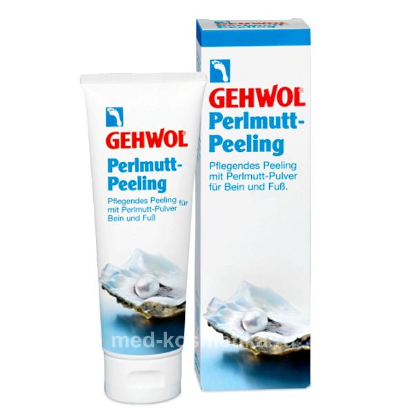 Жемчужный пилинг для ног GEHWOL PERLMUTT-PEELING 125 мл