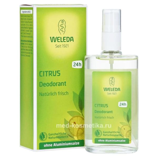 Цитрусовый дезодорант Weleda