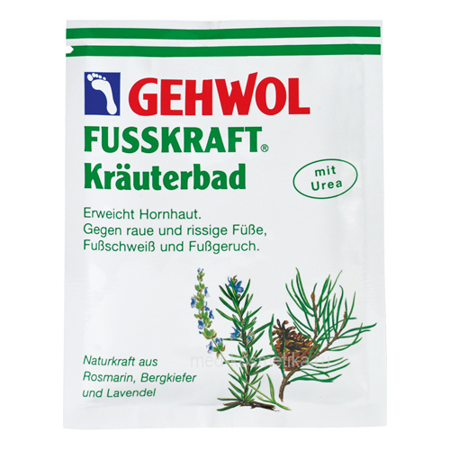 Gehwol Fusskraft Herbal Bath, 20 грамм