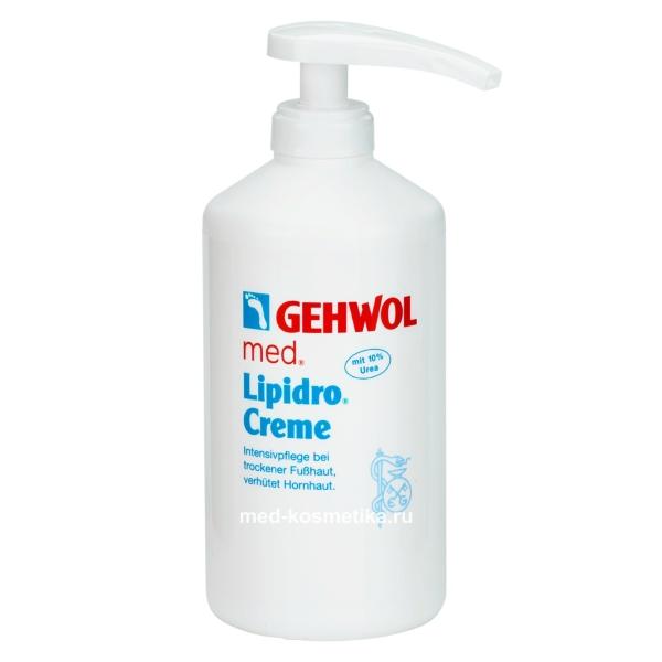 Крем Гидро-баланс GEHWOL LIPIDRO CREME 500 мл