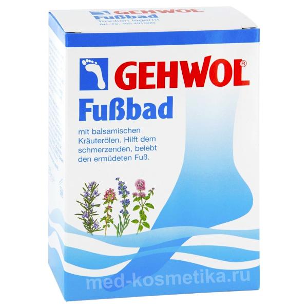 Ванна для ног 10 пакетов FUSSBAD по 20 г, 200 г