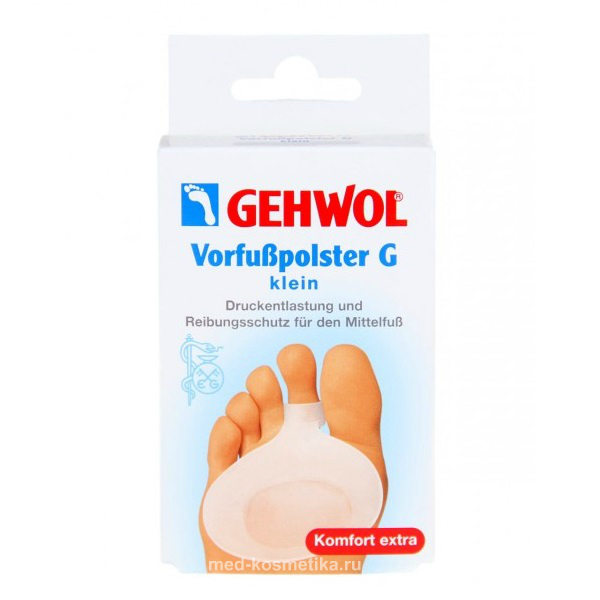 Gehwol Защитная гель-подушечка под пальцы G,маленькая