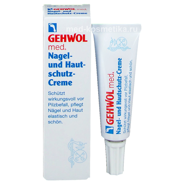Защитный крем для ногтей и кожи NAGEL-UND HAUTSCHUTZ-CREME 15 мл