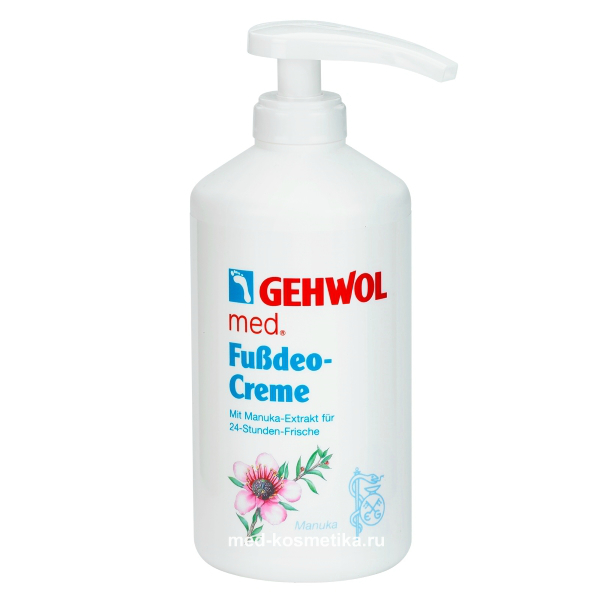 Крем-дезодорант GEHWOL FUSSDEO-CREME 500 мл